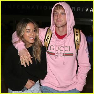Chloe Bennet & Logan Paul Can't Help But Be 'Cringy' Cute!