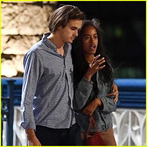 Malia Obama Enjoys Another Date Night in London with Her Boyfriend!