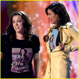 Nina Dobrev Meets Her Biggest Fan at Teen Choice Awards 2018!