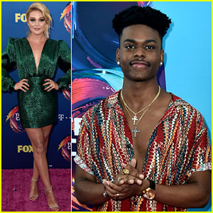 Olivia Holt & Aubrey Joseph Kick Off Teen Choice Awards 2018 Red Carpet