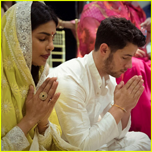 Nick Jonas Celebrates His Engagement in India with Priyanka Chopra (Photos)