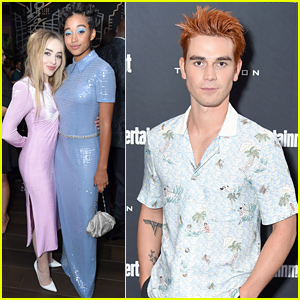 Amandla Stenberg & Sabrina Carpenter Look So Chic at TIFF Party!