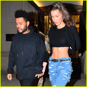Bella Hadid & The Weeknd Get In Quality Time After Fashion Week!