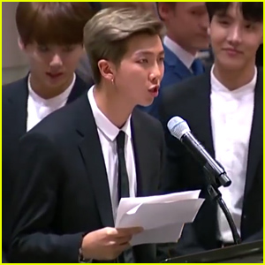 BTS Give a Powerful Speech During UN General Assembly in NYC - Watch Now!