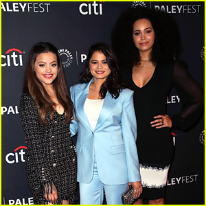 Sarah Jeffery Joins 'Charmed' Cast at PaleyFest Preview Event!