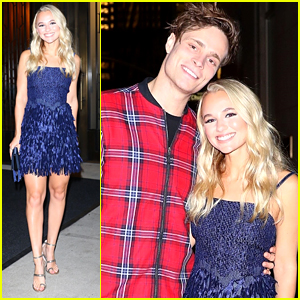 Madison Iseman Has Date Night Out With Boyfriend Spencer Sutherland in NYC
