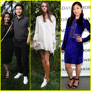 Olympians Maia Shibutani & Mirai Nagasu Attend Fashion Shows During NYFW