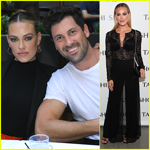 Peta Murgatroyd & Maksim Chmerkovskiy Make Stylish Couple at NYFW Dinner