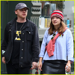 Rupert Grint Spends Time with Longtime Love Georgia Groome in NYC!