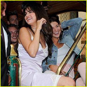 Selena Gomez Unveils Her Coach Collaboration at The Grove in LA!