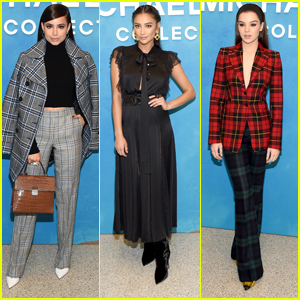 Sofia Carson Joins Shay Mitchell & Hailee Steinfeld at Michael Kors' NYFW Show