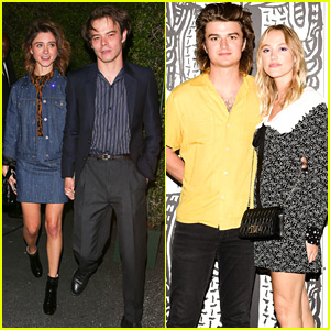 Natalia Dyer & Charlie Heaton Go On a Double Date with Co-Star Joe Keery!