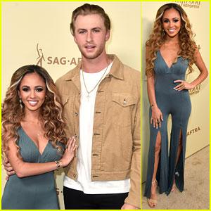 Vanessa Morgan Brings Boyfriend Michael Kopech to THR's Pre-Emmys Party