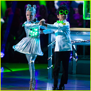 Akash Vukoti Cooks Up Some Weird Science for Halloween Night on 'DWTS Juniors' - Watch Now!