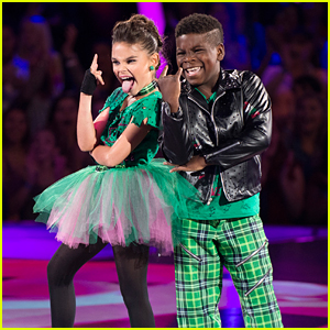 DWTS Juniors: Ariana Greenblatt & Artyon Celestine Go Punk For Their Jive - Watch Now!