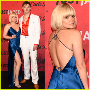 Ariel Winter Joins Levi Meaden for Just Jared's Halloween Party!