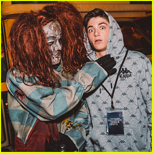 Asher Angel, Navia Robinson & More Stop By Halloween Horror Nights