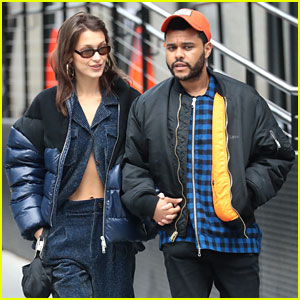 The Weeknd Wears 'Blame Bella' Hat While Stepping Out With Bella Hadid!