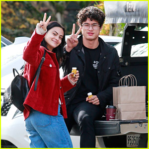 Camila Mendes & Charles Melton Hang Out in Vancouver After Halloween Weekend