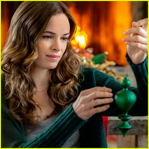 See All The Pics From Danielle Panabaker's Hallmark Movie 'Christmas Joy' Here!