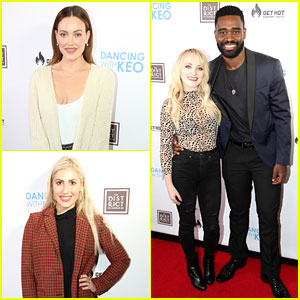 DWTS' Peta Murgatroyd, Emma Slater, & Evanna Lynch Attend 'Dancing With Keo' Launch Event!