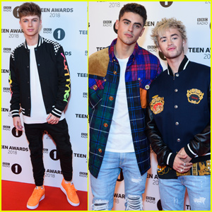 HRVY Joins Jack & Jack at BBC Radio 1 Teen Awards!