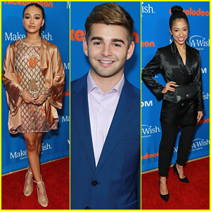 Jack Griffo Joins Daniella Perkins & Liza Koshy For WISH Gala 2018