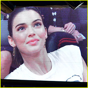 Kendall Jenner Sits Courtside at Lakers-Rockets Basketball Game!