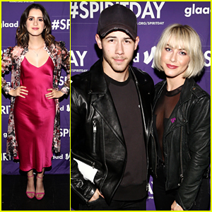 Laura Marano, Nick Jonas, Julianne Hough & More Step Out For Beyond Spirit Day Concert