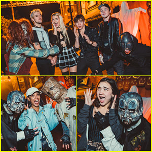 Ross Lynch, Rowan Blanchard, Candice Patton & More Hit Up Halloween Horror Nights in LA