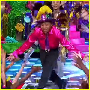 Marshawn Puts Tropical Spin on His 'Cheerleader' Performance on 'Lip Sync Battle Shorties' - Watch Now!