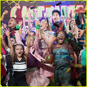 Milo Manheim & Meg Donnelly Throw a 'Zombies' Halloween Party!
