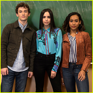 Janel Parrish, Sofia Carson & Sydney Park Kick off 'PLL: The Perfectionists' First Day of Filming!