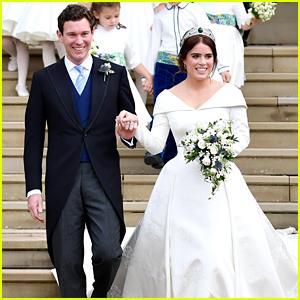 Princess Eugenie Marries Jack Brooksbank In Fairytale Wedding in Windsor, England