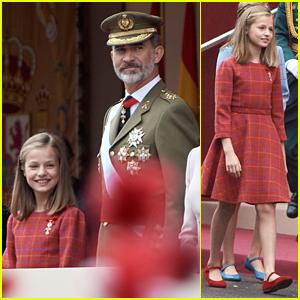 Princess Leonor Hit a Major Milestone at Spain's Military Parade
