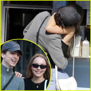 Lily-Rose Depp Looks So Happy with Timothee Chalamet in New Photos!