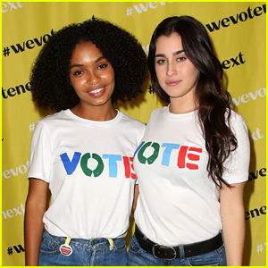 Lauren Jauregui Joins Yara Shahidi At 'We Vote Next Summit' in Los Angeles