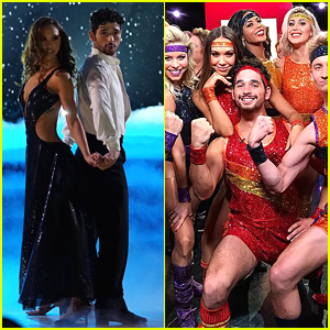 Alexis Ren & Alan Bersten Give Us Life With Two Performances on 'Dancing With The Stars' Semi-Finals - Watch Now