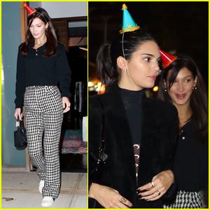 Bella Hadid Throws Birthday Bash for Kendall Jenner!