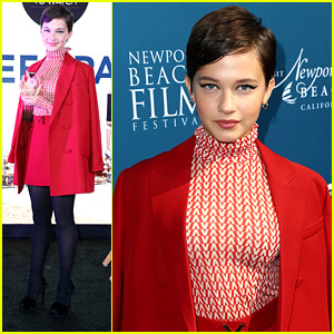 Cailee Spaeny Rocks Bold Valentino Look For Variety's 10 Actors To Watch Event at NBFF