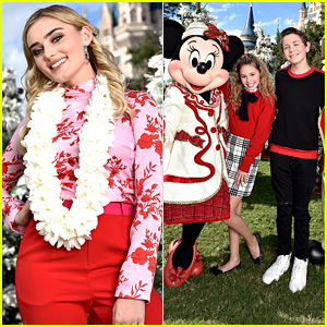 Meg Donnelly To Perform At 'Disney Parks Presents a 25 Days of Christmas Holiday Party' - First Look Pics!