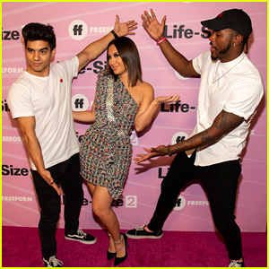 Francia Raisa's Grown-ish Co-Stars Support Her at 'Life-Size 2' Premiere