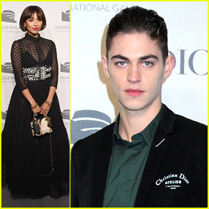 'After' Stars Hero Fiennes-Tiffin & Khadijha Red Thunder Join Kat Graham at Guggenheim Gala