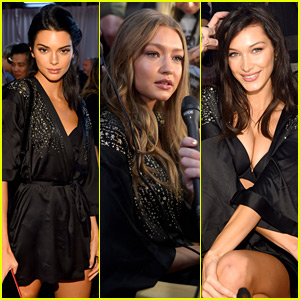 Kendall Jenner & The Hadid Sisters Prep for Their Third Victoria's Secret Fashion Show