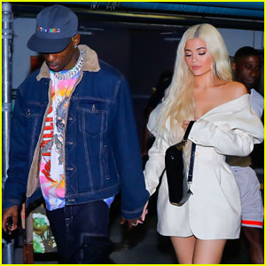 Kylie Jenner Joins Travis Scott on Tour in Miami