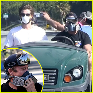 Liam Hemsworth Helps Out in Malibu Amid the Fires