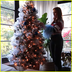 Madelaine Petsch Buys Her First Tree For Christmas In New Vlog