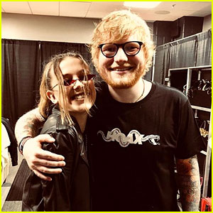 Millie Bobby Brown Checks Out Ed Sheeran in Concert!