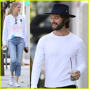 Patrick Schwarzenegger & Abby Champion Wear White 2 Months After Labor Day