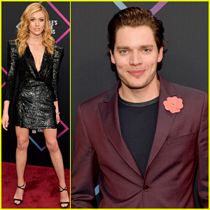 Katherine McNamara, Dominic Sherwood, & 'Shadowhunters' Stars Arrive at PCAs 2018!